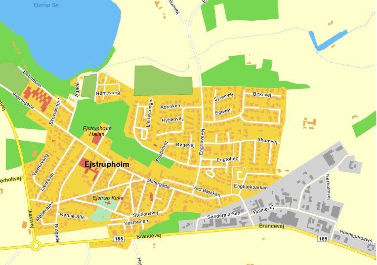 Vinduespudser i Ejstrupholm